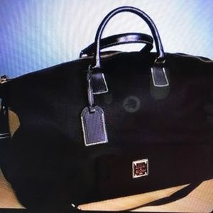 DOONEY AND BOURKE-NWT CABRIOLET WEEKENDER  BAG
